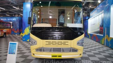 Tata Luxury Bus, Starbus Ultra AC, Starbus Urban Articulated showcased - IAB Report