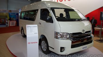 Launch of the Toyota Hiace put on hold in India - Report