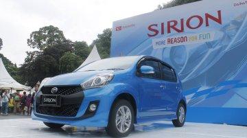 2015 Daihatsu Sirion launched - Indonesia