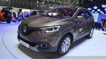 Renault Kadjar - 2015 Geneva Live