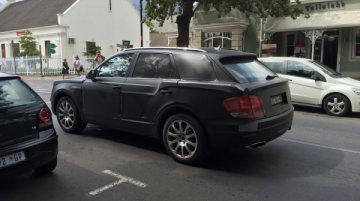 Bentley Bentayga spotted in South Africa - Spied