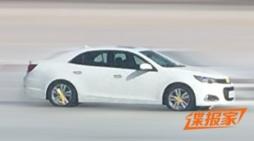 All-new 2016 Chevrolet Malibu spotted undisguised in China - Spied
