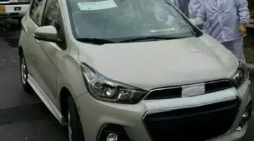 Next gen 2016 Chevrolet Spark (Beat) revealed in spyshots - Spied