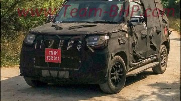 Mahindra U301 spotted again near Chennai - Spied