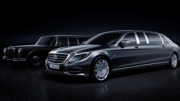 Mercedes Maybach Pullman unveiled, debuts in Geneva - IAB Report