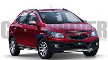 Chevrolet Onix Cross on the anvil - Brazil