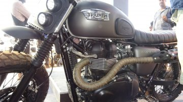 Triumph celebrates first anniversary in India with custom built Bonneville - IAB Report