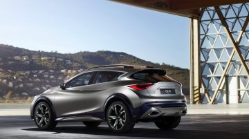 Infiniti QX30 Concept revealed ahead of its Geneva 2015 debut - IAB Report