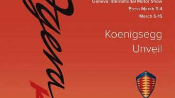 Koenigsegg Agera RS to debut at 2015 Geneva Motor Show - IAB Report