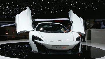 McLaren 675LT - 2015 Geneva Live