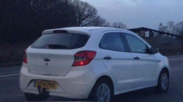 India-bound New Ford Ka (Ford Figo) with 1.5L TDCi starts testing in Europe - Spied