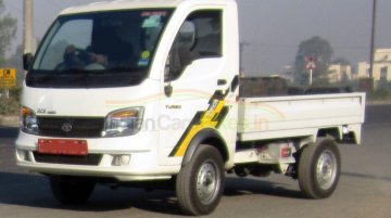 Tata Ace 'Mega' to have a payload of 1T, spotted on test - Spied