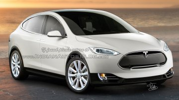 Tesla Model X production version - IAB Rendering
