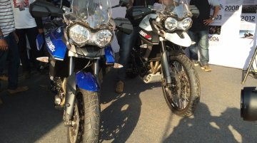 Triumph Tiger XCx and XRx unveiled at India Bike Week 2015 - IAB Report
