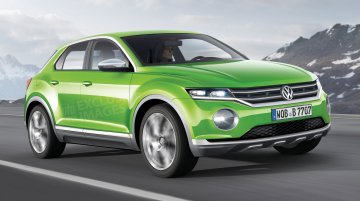 VW Polo-based compact SUV under consideration - Rendering