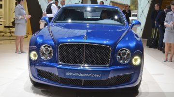 2015 Bentley Mulsanne Speed at the 2015 Geneva Motor Show