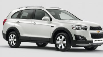 2015 Chevrolet Captiva launched in India at INR 25.13 lakhs - IAB Report