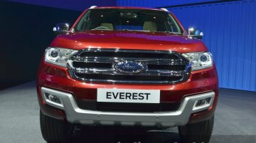 2015 Ford Everest (India-bound Ford Endeavour) launched - 2015 Bangkok Live