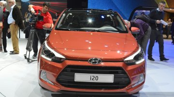 2015 Hyundai i20 Coupe at the 2015 Geneva Motor Show