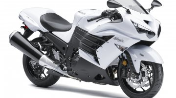 Kawasaki Ninja ZX-14R now available in India in white shade - Report