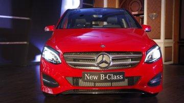2015 Mercedes B Class (facelift)