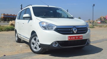 Top-end Renault Lodgy RxZ variant deleted from Indian lineup