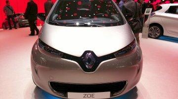 2015 Renault Zoe at the 2015 Geneva Motor Show