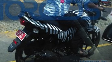 New TVS Victor spotted testing again - Spied