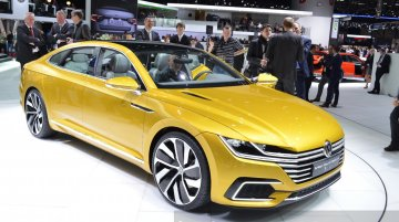 VW Sport Coupe Concept GTE at 2015 Geneva Motor Show