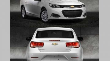 Chevrolet Malibu facelift with upmarket styling leaked in China - Report