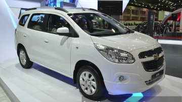 India-bound Chevrolet Spin - 2015 Bangkok Live