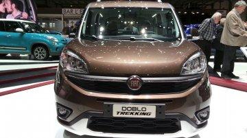 Fiat Doblo Trekking - 2015 Geneva Live
