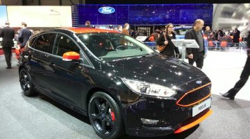 Ford Focus Red and Black editions - 2015 Geneva Live