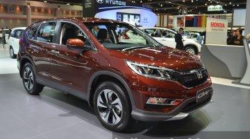 India-bound 2015 Honda CR-V (facelift) - 2015 Bangkok Live