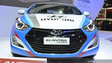 Hyundai Elantra Sport Concept - 2015 Bangkok Live
