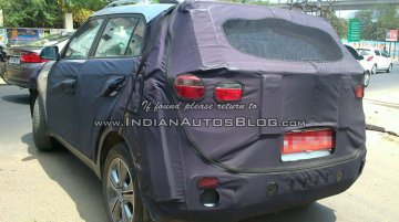 Top-spec Hyundai ix25 caught testing in Chennai - Spied