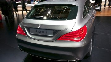 Mercedes Benz CLA Shooting Brake - 2015 Geneva Live