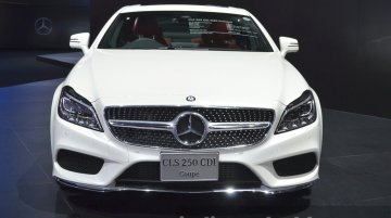 Mercedes CLS250 CDI (launches tomorrow in India) - 2015 Bangkok Live