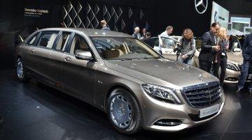 Mercedes Maybach Pullman - 2015 Geneva Live