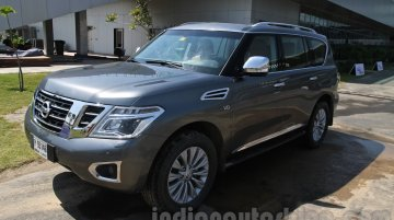 Nissan Patrol makes Indian premiere, but its launch isn't confirmed - IAB Report