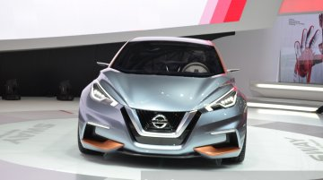 Nissan Sway Concept at the 2015 Geneva Motor Show