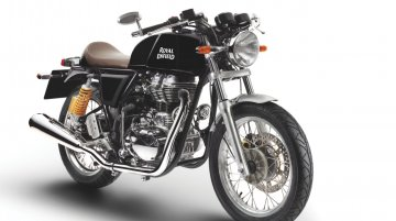 Royal Enfield Continental GT now available in Black shade - IAB Report