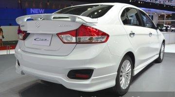Suzuki Ciaz 'Aero' with body kit (India-bound) debuts at Bangkok Show – IAB report