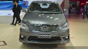 Toyota Innova with body kit, LED DRLs - 2015 Bangkok Live