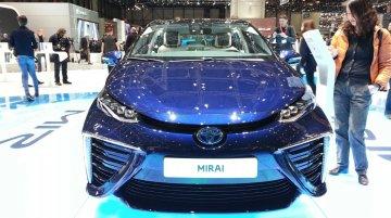 Toyota Mirai at the 2015 Geneva Motor Show