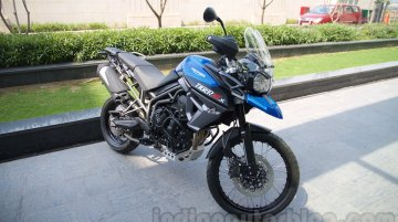 Triumph Tiger XRx and XCx launched in India at INR 11.6 lakhs [Images Updated]