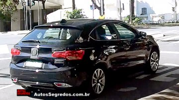 Fiat Ottimo hatch spotted testing in Brazil - Spied