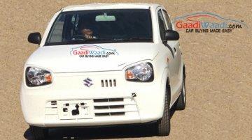 2015 Suzuki Alto (JDM-spec) spotted in India with 0.66L engine - Spied