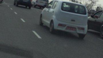 2015 Suzuki Alto (JDM) caught testing in Delhi - Spied