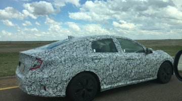 2016 Honda Civic caught testing in the USA - Spied